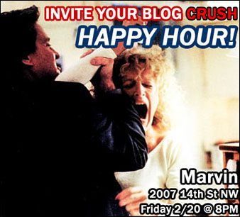 Blogger Happy Hour