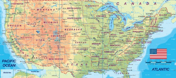 Things I Learned From Touring The American Midwest - Us midwest map with cities