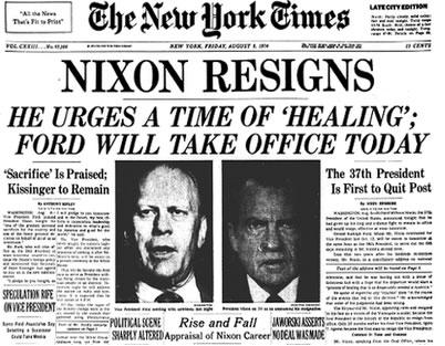 nixon-resigns