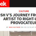 "Newsweek Magazine: ""Roosh V's Journey From Pickup Artist To Right-Wing Provocateur"""