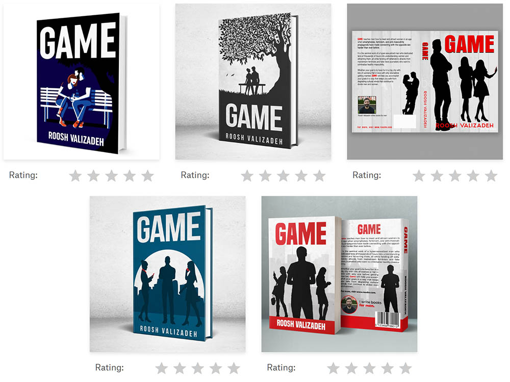 Vote On The Final Cover Of My New Book Game